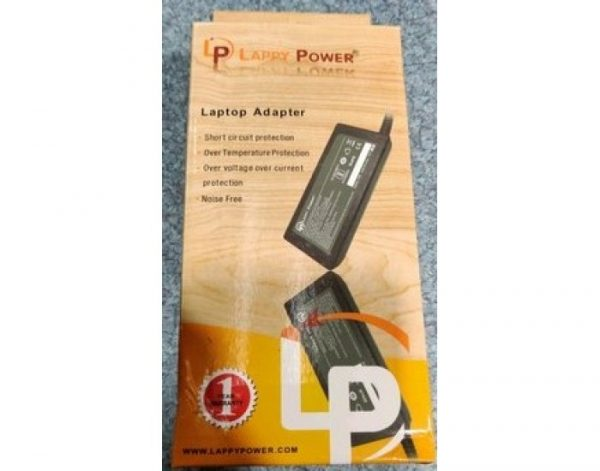 Lappy Power Laptop Adapter for All Brands 5 20V 3.25A Type-C Pin (Black)