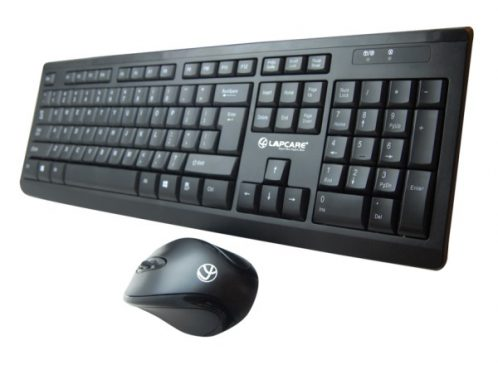 Lapcare L901 Wireless 2.4G Keyboard + Mouse Combo Pack