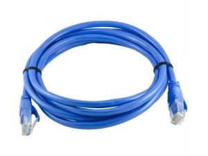 Terabyte Coaxial Cat 6 Patch Cable, 2m