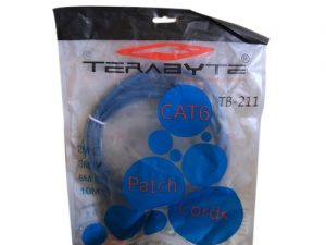 Terabyte Coaxial Cat 6 Patch Cable, 3m